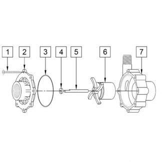 March Magnetic Drive Pump Wet End Kit