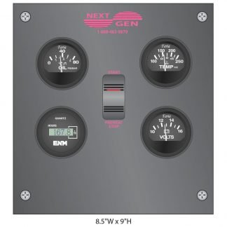 NextGen 4-Gauge Remote Panel